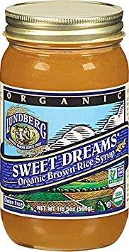 Lundberg Family Farms - Organic Sweet Dreams Brown Rice Syrup, Substitute Sweetener, Replaces Sugar, Honey, Corn Syrup, Non-GMO, Gluten-Free, USDA Certified Organic, Vegan, Kosher (21 oz, 2-Pack)