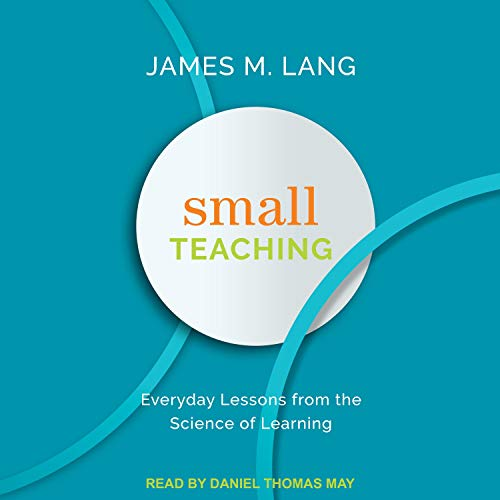 Page de couverture de Small Teaching