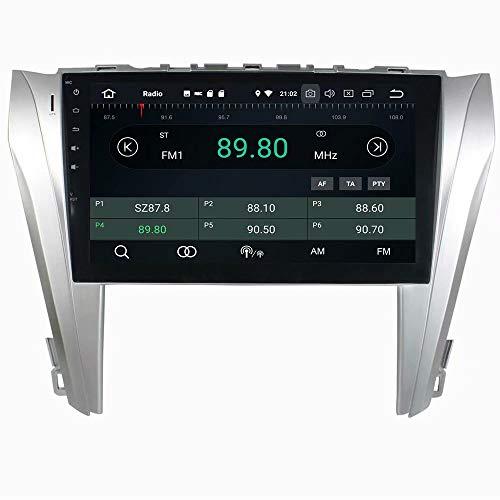 ROADYAKO Android 8.0 Stéréo de Voiture pour Toyota Camry 2014 2015 Auto Radio avec Navigation GPS 3G WiFi Lien Miroir RDS FM AM Bluetooth AUX Multimédia Audio Vidéo