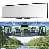 RUIZHI Espejo Retrovisor Para AutomóVil, Espejo Retrovisor PanoráMico Antideslumbrante, Utilizado Para AutomóViles y Barcos, Accesorios Para AutomóViles, Espejos Retrovisores PanoráMicos