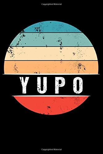 YUPO: 100 Pages 6 'x 9'   Dot Graph Paper Journal Manuscript • Planner • Scratchbook • Diary