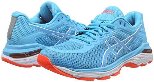Asics Gel-Pursue 4, Zapatillas de Running para Mujer, Azul (Aquarium/Aquarium 400), 37 EU