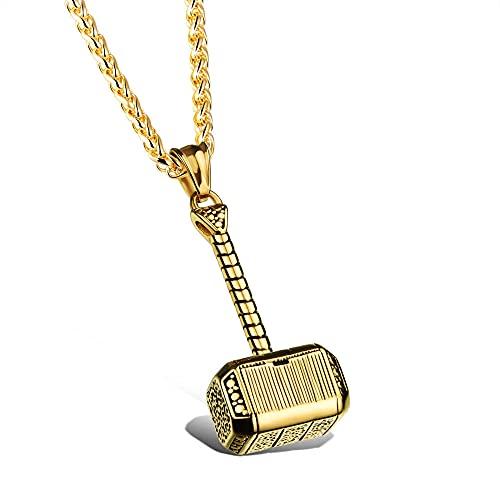 Collar Joyería de moda Collar de hombre de la suerte Colgante de acero de titanio Colgante de accesorios de personalidad de los hombres de moda Colgante