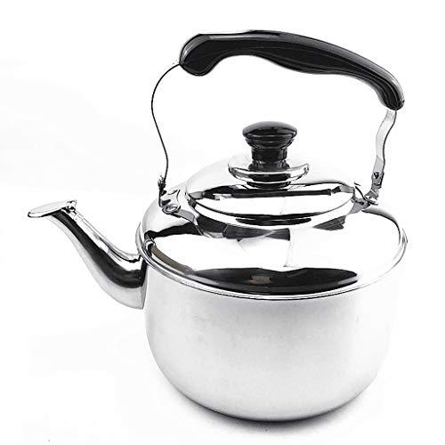 LCFF Bouilloire de santé de sifflet automatique de cuiseur de gaz de cuisine à la maison 304 d'acier inoxydable de cuisinière à induction (Capacité : 4L)