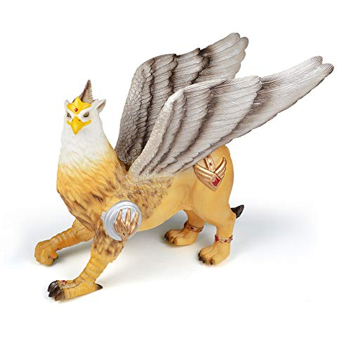 RECUR Griffin Toy Figure Dymbol of Divine Power and a Guardian of The Divine Fantasy Creatures Collectible Educational Figurine Gryphon Action Figure for Boys Girls Kids Toddlers Ages 3+