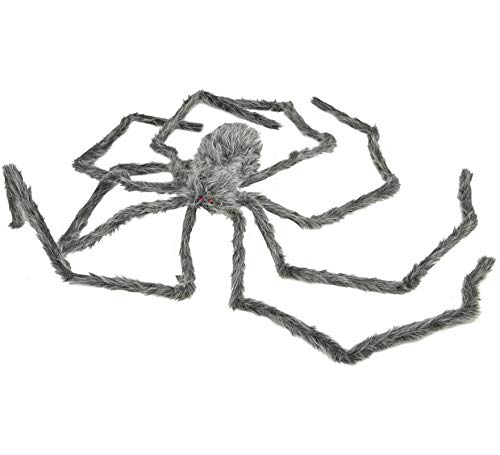 Viving Costumes Viving Costumes204419 Giant Fluffy Spider (8 x 28 x 230 cm)