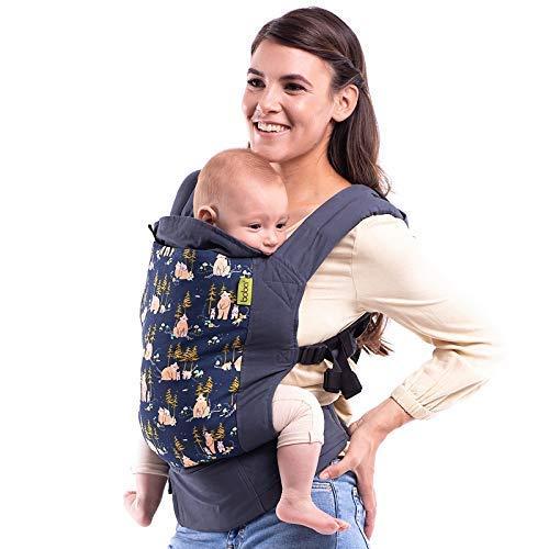 Boba Porte-bébé Classic 4GS - Bear Cub - Sac à dos ou sac avant pour les nouveaux-nés de 3 kilos et les enfants jusqu'à 20 kilos.