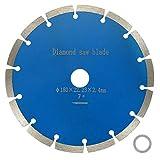 7-Inch/180mm Diamond Blade Segmented Diamond Saw Blade for Masonry Marble Concrete Tile