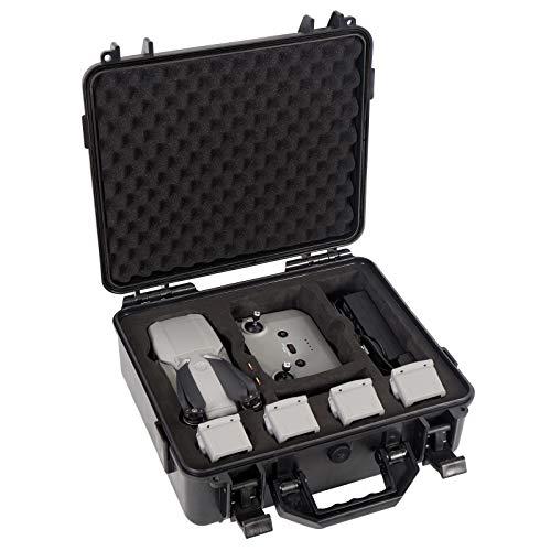 Smatree Estuche rígido Impermeable Profesional Compatible con dji Mavic Air 2 y el Control Remoto dji (el dron y los Accesorios NO están incluidos)
