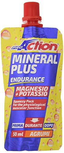 ProAction Mineral Plus Magnesio + Potassio (agrumi) (confezione da 32 pezzi da 50 ml)