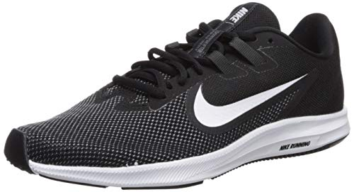 Nike Damen Downshifter 9 Laufschuhe, Schwarz (Black/White-Anthracite-Cool Grey 001), 36.5 EU