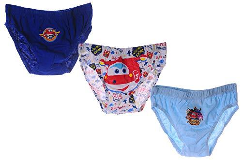 Unterwäsche Set Kinder Höschen Super Wings Slips Unterhosen 3er Pack Disney (2/3)
