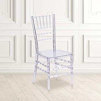 Flash Furniture Flash Elegance Crystal Ice Stacking Chiavari Chair