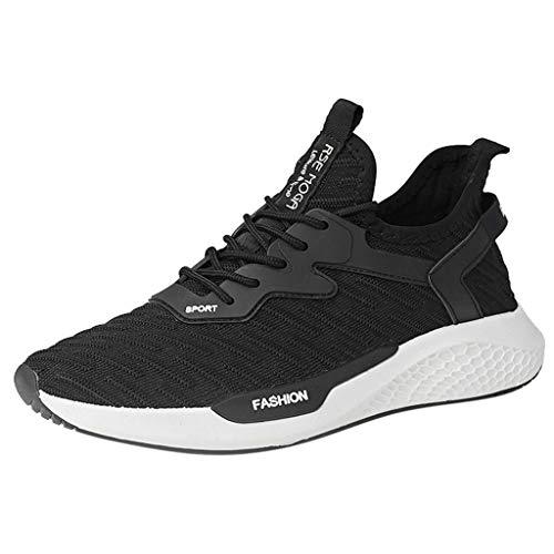 Binggong Atmungsaktiv Sneaker Laufschuhe Sportschuhe für Fitness Trekking Herren Rutschfeste Shock Absorbing Turnschuhe Gymnastikschuhe Ultraleicht Textil Schuhe