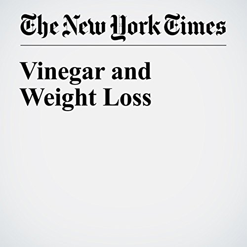 Vinegar and Weight Loss cover art