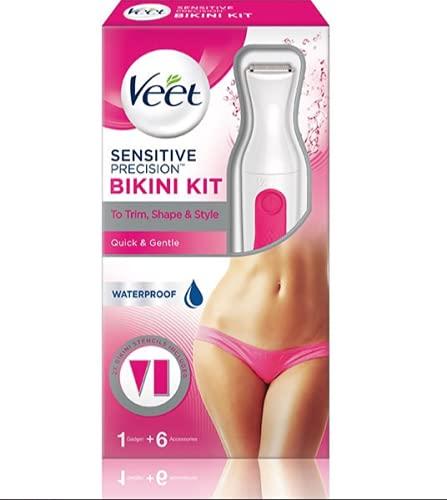 Veet - Sensitive Precision Waterproof Bikini Kit - Electric Shaver