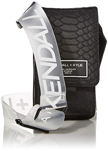 Kendall + Kylie Damen Stella Black Schultertasche, Schwarz, Einheitsgröße