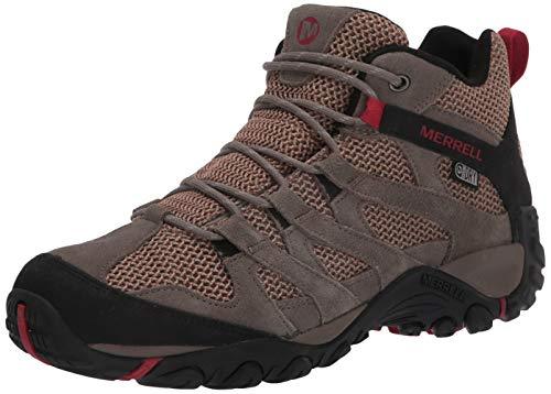 Merrell mens Alverstone Mid Waterproof Hiking Boot, Boulder, 10 US