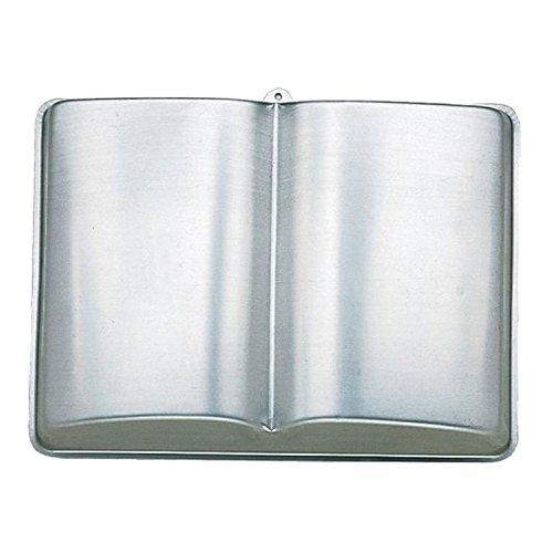 Molde de torta - TOOGOO(R) sarten de aluminio de torta en forma de libro