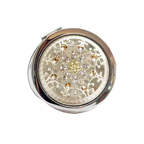 Goody-Maquillage pliante Portable Cosmetic pliant Voyage Pocket Mirror Compact