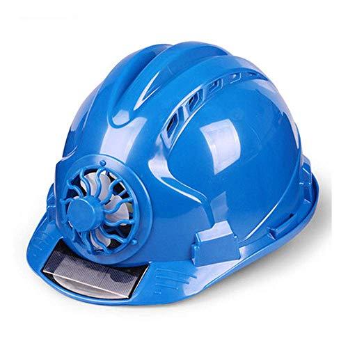 Sooiy Casco de Seguridad, Emplazamiento de la Obra ventilada, Protección Solar emplazamiento de la Obra Casco de Deportes, Multicolor selección Cascos de Seguridad,Azul