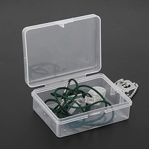 Ladieshow Hörverstärker Anti-Lost Rope Lanyard Schutzseil Tragbar mit Aufbewahrungsbox, Hörgeräteseil Anti-Lost Clip Clamp Protector Halter Schallverstärker Ohrgeräte Zubehör