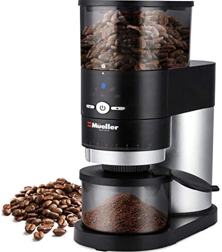 Mueller Ultra Grind Conical Burr Grinder Professional Series Innovative Detachable PowderBlock product image