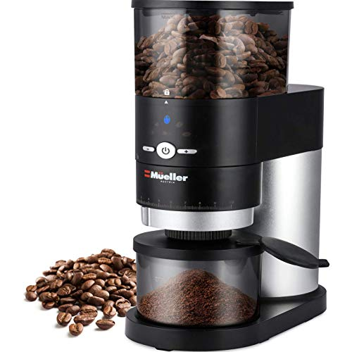 CMueller Ultra-Grind Conical Burr Grinder Professional Series