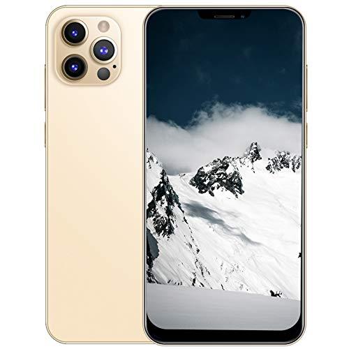 Archuu Teléfono Inteligente Desbloqueado de 6.26 Pulgadas, teléfono Celular con Pantalla HD Bang, Tarjetas duales, teléfono Inteligente con Doble Modo de Espera, teléfono móvil(EU)