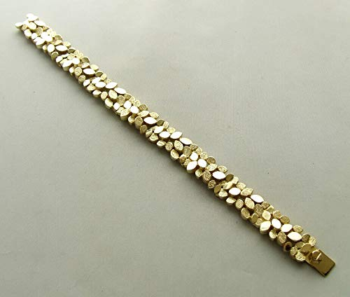 14 karaat Christian geel gouden armband