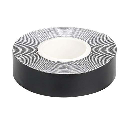 SummerHosue 1 Gram Per Inch Golf High Density Lead Tape Weight with Black Color Coated 1/2'' x 100''