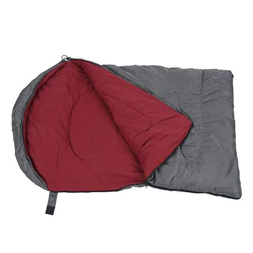 DAUERHAFT Robuster Umschlag Kompakte Outdoor-Schlafsäcke 3-Jahreszeiten-Camping-Schlafsack Camping-Isolierung Einzelumschlag-Schlafsack für Jugendliche Erwachsene(Camping pet Sleeping Bag)