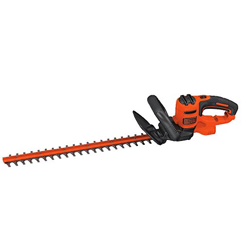 BLACK+DECKER Electric Hedge Trimmer, 22-Inch (BEHT350)