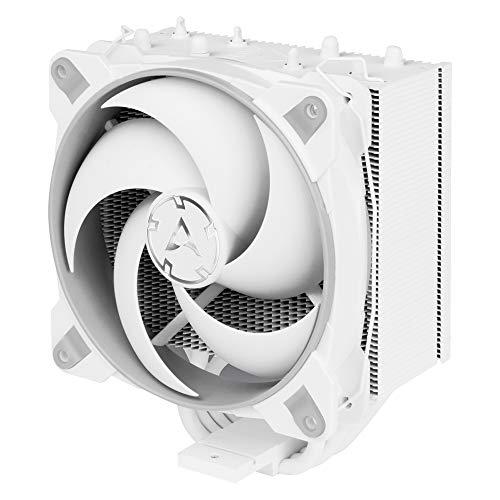 ARCTIC Freezer 34 Esports - Tower CPU Luftkühler mit BioniX P-Serie Gehäuselüfter, 120 mm PWM Prozessorlüfter für Intel und AMD Sockel, für CPUs bis 200 Watt TDP – Grau/Weiß