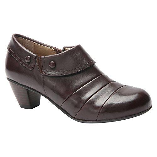 Drew Women's Ashton Dark Brown Smooth Leather Shoe