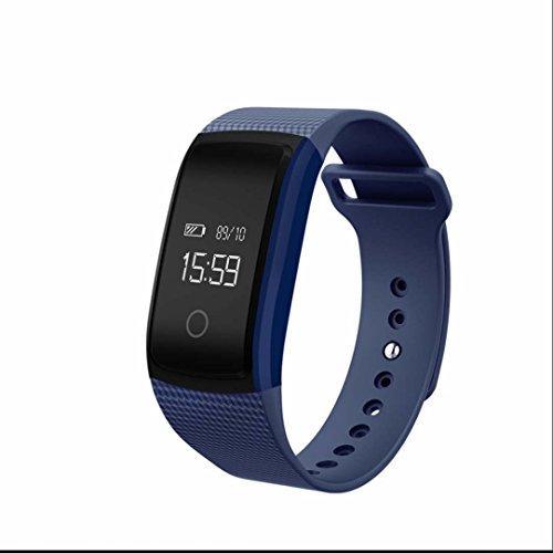 Tracker d'Activité Cardiofréquencemètre,Appel mains-libres,Fitness Tracker,Moniteur de Fréquence Cardiaque,dormir moniteur,Anti-lost Message,Bluetooth 4.0 Etanche Bracelet Intelligent Compatible avec Android et iOS