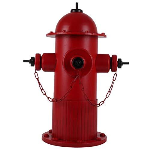 LUCKFY Fire Hydrant Statue - Garden Ornaments Outdoor - Yard Art Decoration - Home & Outdoor Decor for Garden, Patio, Deck, Porch