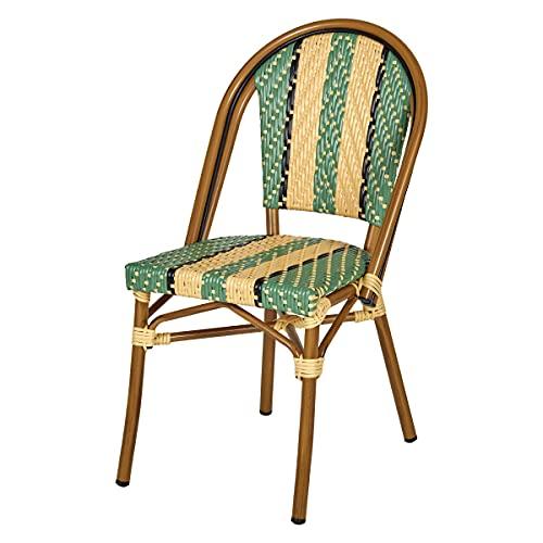 chaise de jardin UGO en resine tressee