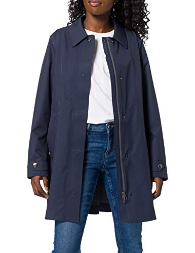 Geox W GENDRY COAT B - 2,5 LAYERS P JACKET, Mujer, GOTHIC BLUE