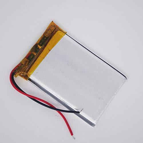 Dilezhiwanjuwu 503759 3.7 v Batteria ai polimeri di Litio batterie Ricaricabili lipo per la Navigazione GPS dvr