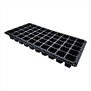 50 Cell Seedling Trays Extra Strength, 10 Pack, Seed Starter Tray for Planting, 1020 Inserts, Plugs, Soil