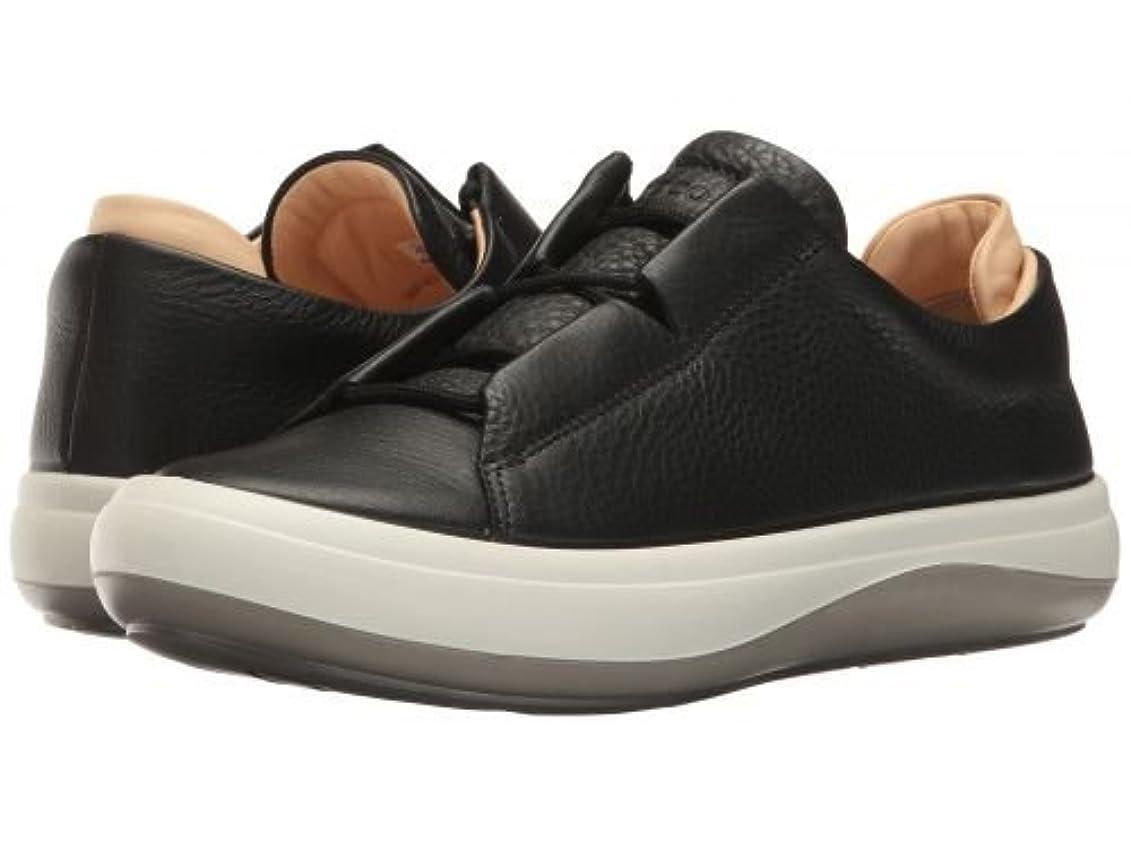 ブロック感じる不承認ECCO(エコー) レディース 女性用 シューズ 靴 スニーカー 運動靴 Kinhin - Black/Vegetable Tan [並行輸入品]