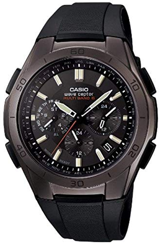 [カシオ] 腕時計 ウェーブセプター 電波ソーラー WVQ-M410B-1AJF ブラック
