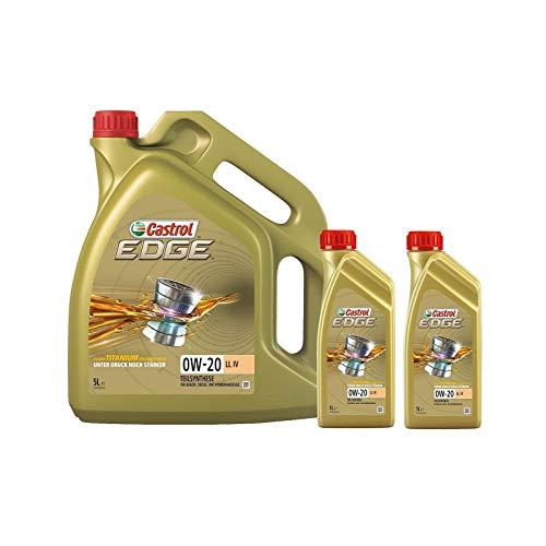 Motorenöl EDGE LL IV 0W-20 [7 L] von Castrol (SET15B1B37L) Öl Schmierung Motorenöl