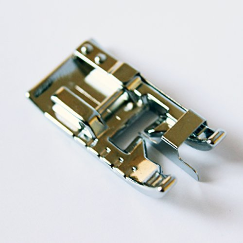 Edge Joining/Stitch in The Ditch Sewing Machine Presser Foot - Fits All Low Shank Snap-On Singer, Brother, Babylock, Euro-Pro, Janome, Kenmore, White, Juki, New Home, Simplicity, Elna and More!
