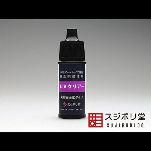 スジボリ堂『紫外線硬化接着剤UVクリアー(TOME021)』