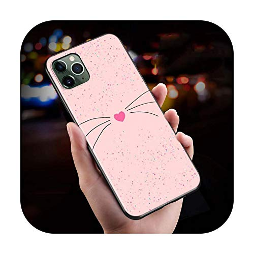 Funda para iPhone 12 Mini 11 Pro Max SE, diseño de corazón de amor lindo animal para iPhone Xs Max XR X 8 7 6S 6 Plus 5 S teléfono de estilo 04-para iPhone 6S