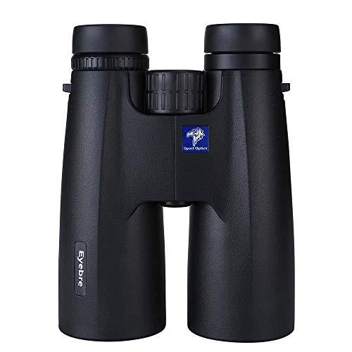 LFFCC 12 X 50 Jumelles Étanches Et Antibuée-Jumelles pour Adultes Multi-Coated Optique Et Bak-4 Prismes De Protection en Caoutchouc-Armoring
