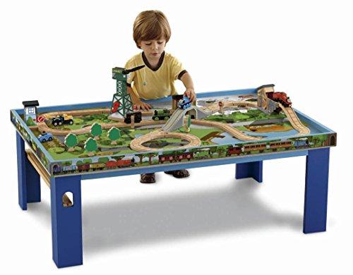 きかんしゃトーマス 木製レールシリーズ プレイテーブル & プレイボード Y4412 フィッシャープライス [並行輸入品]