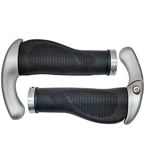 Yinglihua Fiets Handvat Grips Ergonomisch Ontworpen Geïntegreerde Fiets Hoorn Grip Vouwfiets Stuur Handvat Bike Handvat Bar End Plugs